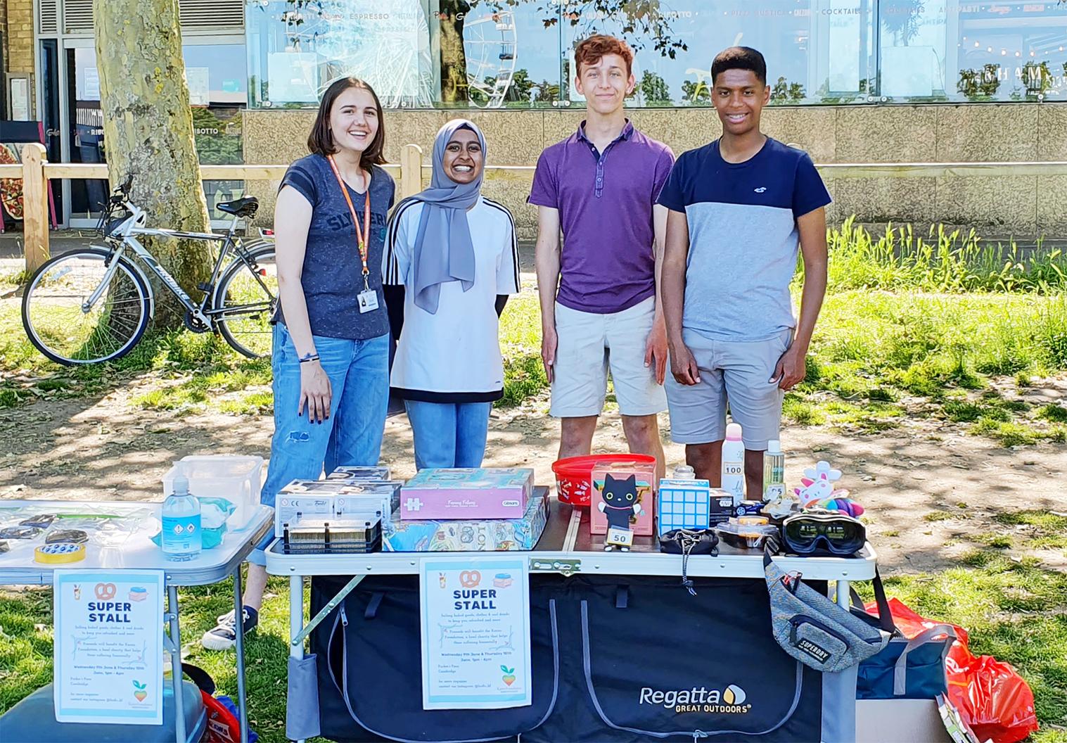 Hills Road Students Raise Hundreds for the Karim Foundation